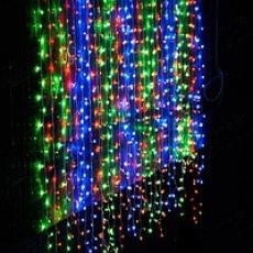 Водопад 240LED цветная 240 LED