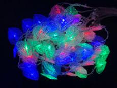 Штора 60 LED RGB кольорова Штора 60 LED RGB кольорова