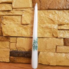 Свічка з шишками 23,5см