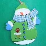 Снеговик в зельном wood1